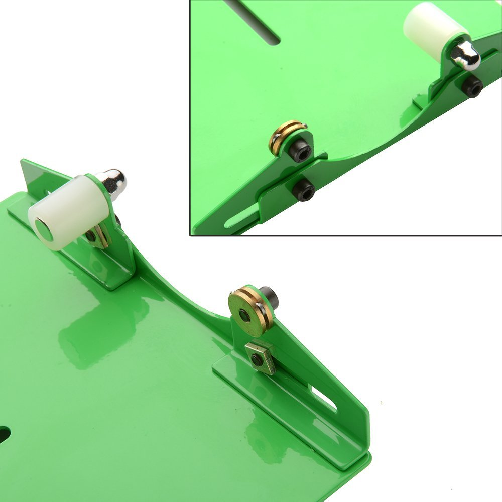 Green Bottle Cutter Kit, AGPtek Glass Bottle Cutter Machine Cutting Tool for Stained Glass, Tumblers, Bottle Planters, Bottle Lamps, Candle Holders